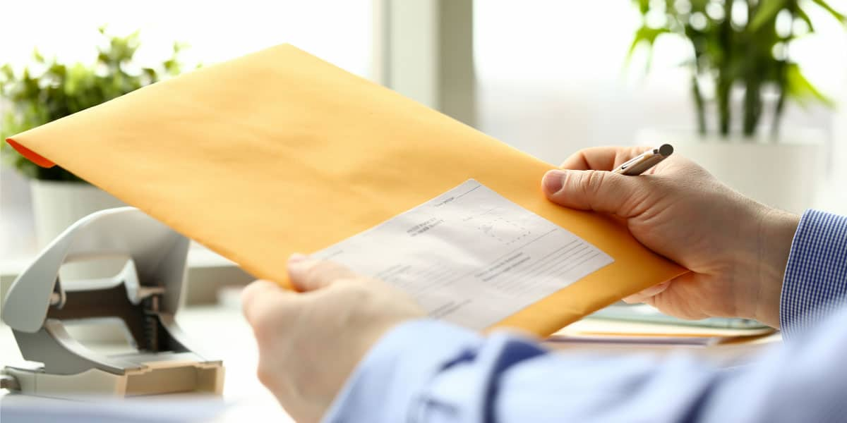 envío de documentos
