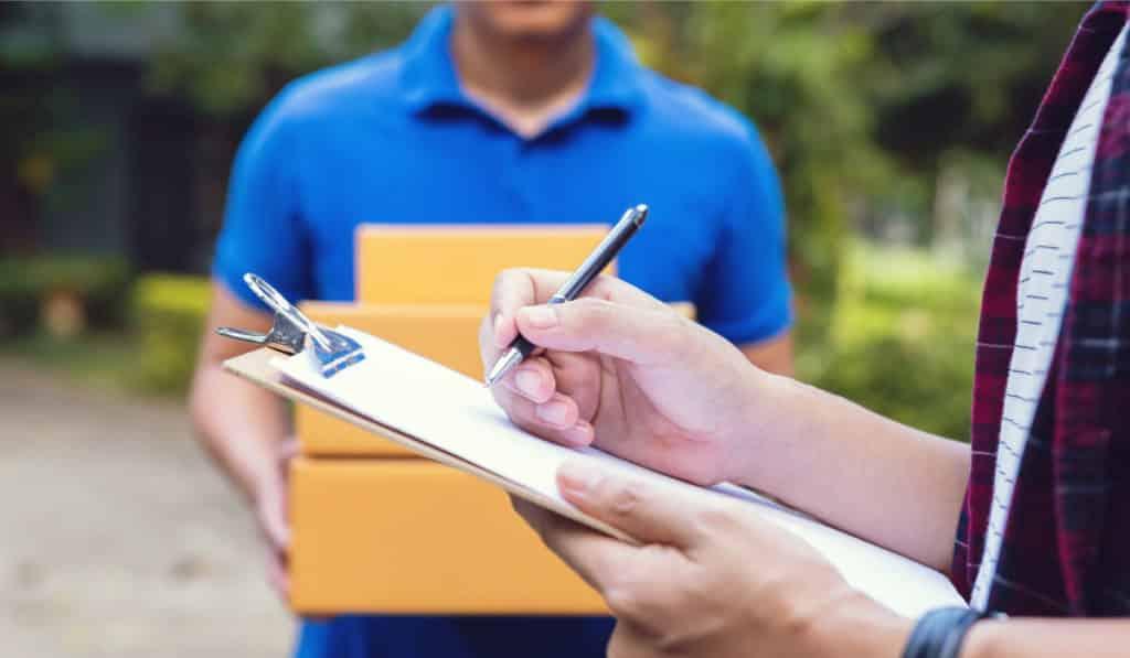 entregas de envíos seguros