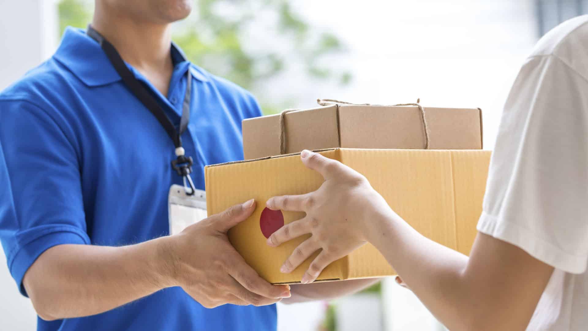 entrega de mercancias