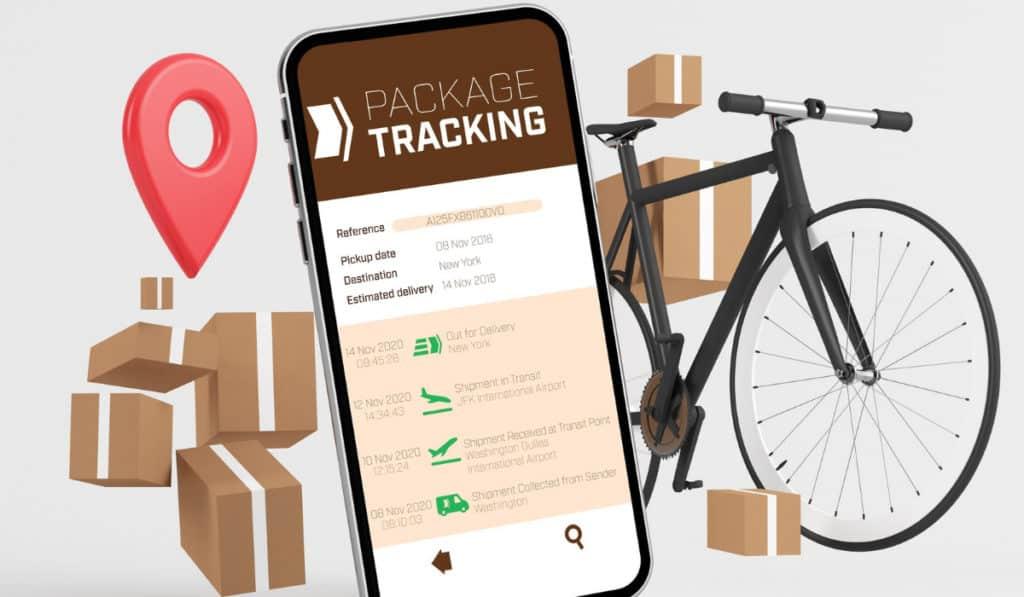 seguimiento o tracking de envíos