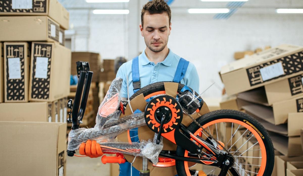 embalaje para bicicletas